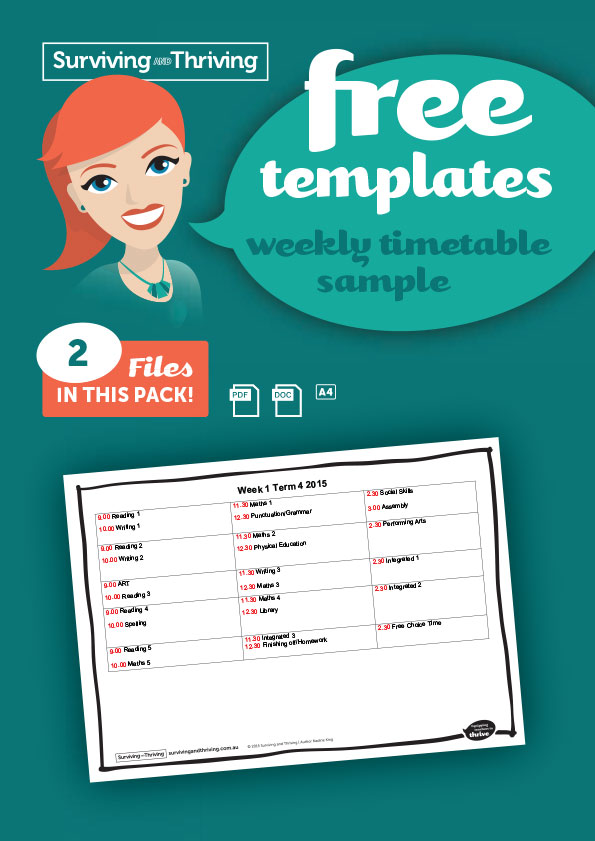 surviving-and-thriving-planning-sample-weekly-timetable-product-image