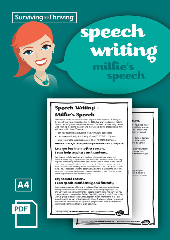 surviving-and-thriving-speech-writing-millies-speech