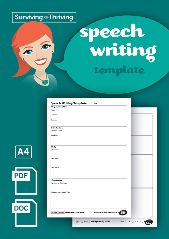 surviving-and-thriving-speech-writing-template